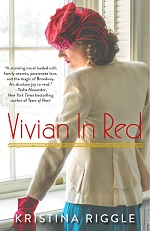 vivian in red mclean and eakin booksellers bookstore event author kristina riggle