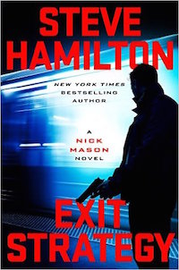 steve hamilton mclean and eakin booksellers bookstore author novel book exit